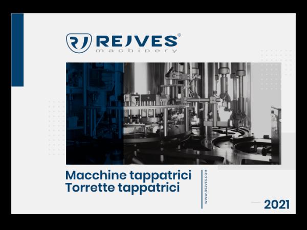 brochure torrette tappatrici Rejves Machinery